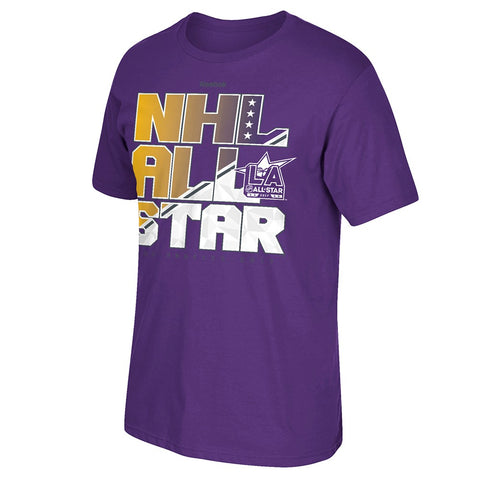 2017 NHL All Star Game Los Angeles Reebok All Star Attraction T-Shirt Men's