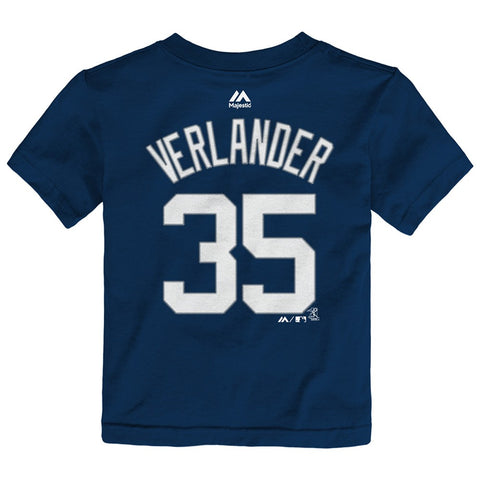 Justin Verlander Detroit Tigers MLB Majestic Toddler Player Jersey T-Shirt