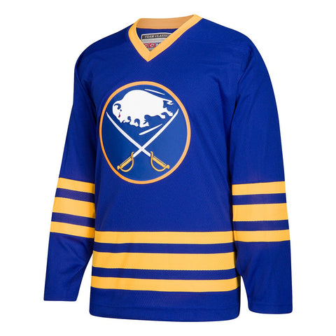 Buffalo Sabres CCM Blue Classic Authentic Throwback Team Jersey Men's