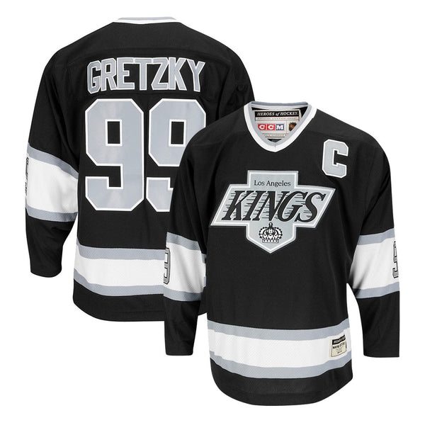 new style e8191 ac218 Wayne Gretzky CCM Los Angeles Kings Heroes of Hockey Authentic Throwback  Jersey