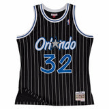 Shaquille O'Neal Orlando Magic NBA M&N Black 1994-95 Swingman Jersey