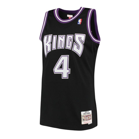 Chris Webber Sacramenton Kings NBA M&N Black 2000-01 HC Swingman Jersey