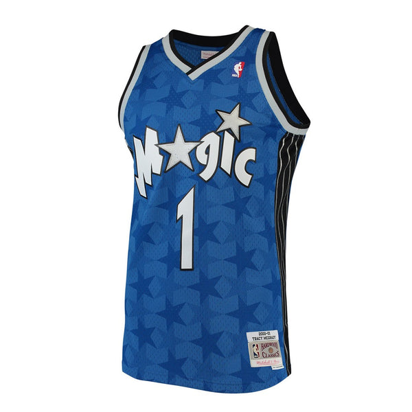 Tracy McGrady 2001-02 Orlando Magic Mitchell & Ness Blue Away Swingman Jersey