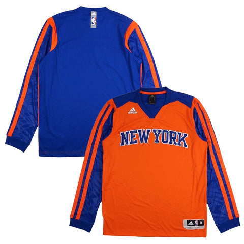 New York Knicks Adidas Authentic On-Court Performance Shooter Shirt Men's