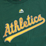 Josh Donaldson Oakland Athletics MLB Majestic Boy's Green Player Jersey T-Shirt