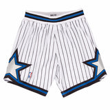 Orlando Magic NBA Mitchell & Ness White 1992-93 Authentic Throwback Home Shorts
