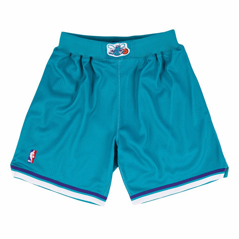 Charlotte Hornets NBA Mitchell & Ness Teal 1992-93 Throwback Away Shorts