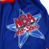 1993 NBA All Star East Authentic Mitchell & Ness Throwback Blue Shorts