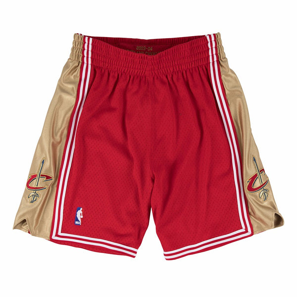 Cleveland Cavaliers NBA Mitchell & Ness Red 2003-04 Throwback Away Shorts