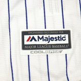 Colorado Rockies MLB Majestic Boys' White Official Home Cool Base Jersey