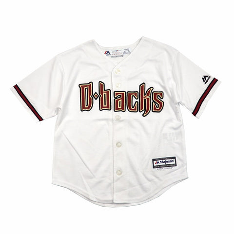 Arizona Diamondbacks MLB Majestic Boys' White Official Home Cool Base Jersey
