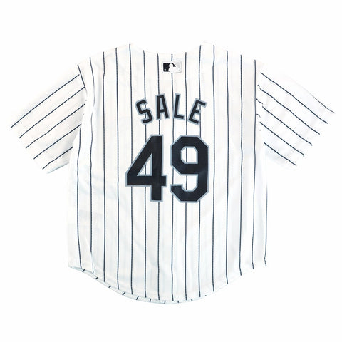 Chris Sale Chicago White Sox MLB Majestic Boys' White Cool Base Home Jersey