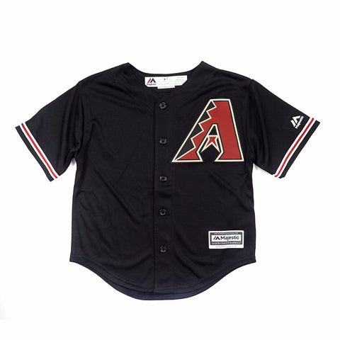 Arizona Diamondbacks MLB Majestic Boys' Black Alternate Cool Base Jersey