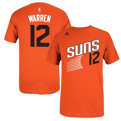 T.J. Warren NBA Phoenix Suns Men's Orange Player Name & Number T-Shirt