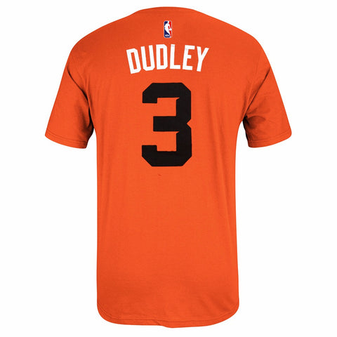Jared Dudley Phoenix Suns NBA Adidas Orange Name & Number Player Jersey T-Shirt