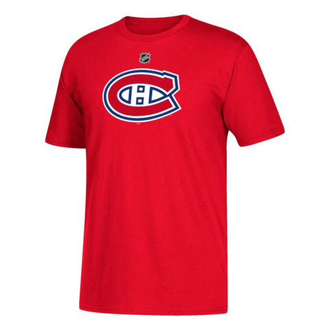 Carey Price NHL Montreal Canadiens Adidas Men's Red Name & Number Jersey T-Shirt