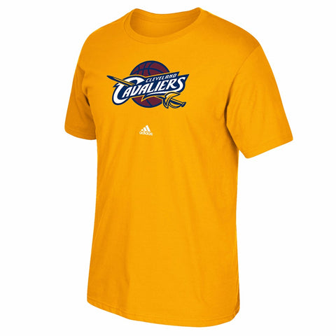 Cleveland Cavaliers NBA Men's Gold Primary Team Logo Short Sleeve T-Shirt