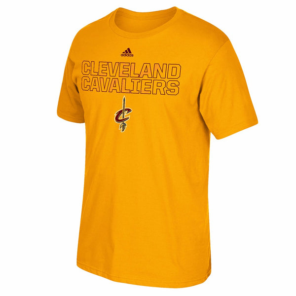 Cleveland Cavaliers NBA Adidas Gold 2015 NBA Draft Graphic T-Shirt