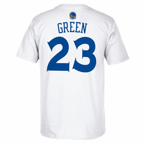 Draymond Green Golden State Warriors White NBA Finals Gametime Shooter Shirt