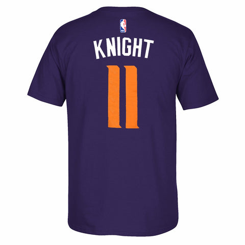 Brandon Knight NBA Phoenix Suns Men's Purple Player Name & Number T-Shirt