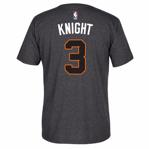 Brandon Knight NBA Phoenix Suns Men's Grey Player Name & Number T-Shirt
