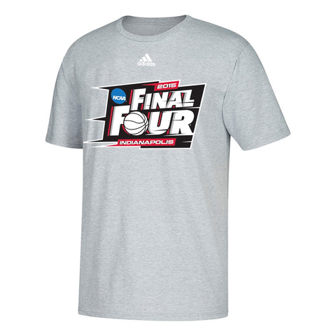 2015 NCAA Final Four Men's NCAA Adidas Graphic Men's Grey T-Shirt