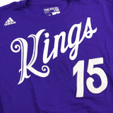 DeMarcus Cousins NBA Sacramento Kings 2016 Xmas Day Mens Purple Name & Num Shirt