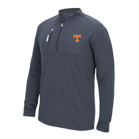 Tennessee Volunteers NCAA Adidas Men's TMAG Adi Golf Grey Mixed Media Fleece