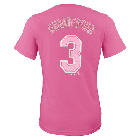 Curtis Granderson New York Mets MLB Player Name & Number T-Shirt Girls (7-16)