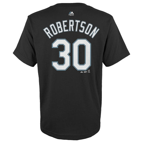 David Robertson Chicago White Sox MLB Majestic Black Name & Number T-Shirt Youth