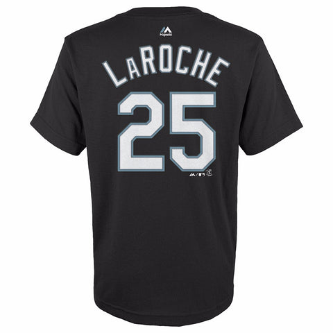 Adam LaRoche Chicago White Sox MLB Majestic YOUTH Black Player Jersey T-Shirt