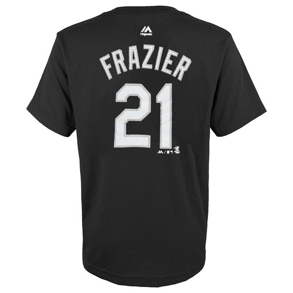 Todd Frazier MLB Majestic Chicago White Sox Player Jersey T-Shirt Youth (S-XL)
