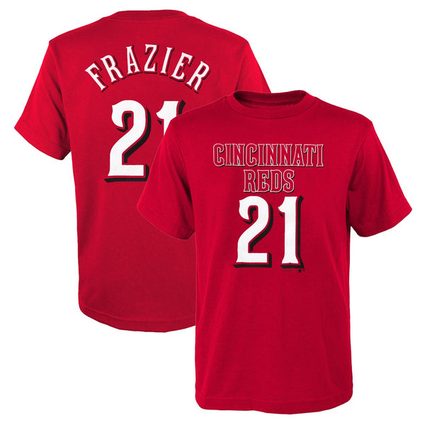 Todd Frazier MLB Philadelphia Phillies Red Jersey T-Shirt Boys Youth (XS-2XL)