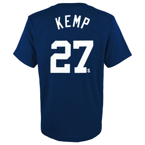 Matt Kemp MLB San Diego Padres Navy Player Jersey T-Shirt Boys Youth (XS-2XL)