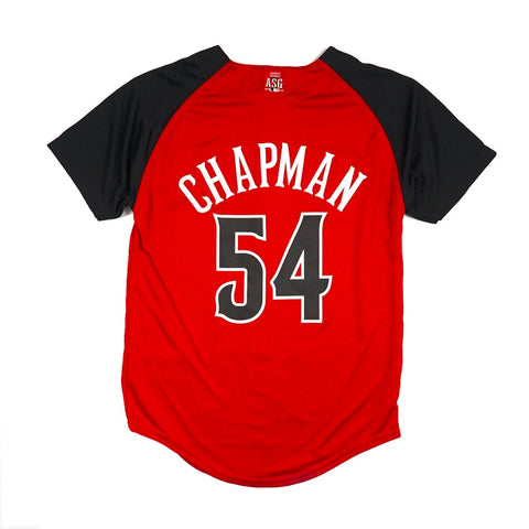 Aroldis Chapman Cincinnati Reds MLB YOUTH Red NL All Star Home Run Derby Jersey