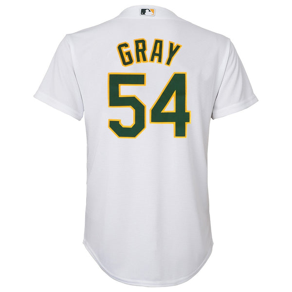 Sonny Gray MLB Majestic Oakland Athletics Home Cool Base Jersey Youth (S-XL)