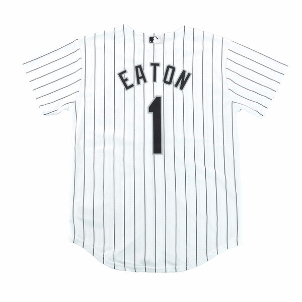 Adam Eaton Chicago White Sox MLB Majestic Youth's White Cool Base Home Jersey