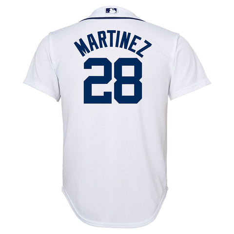 J.D. Martinez MLB Majestic Detroit Tigers Cool Base Home Jersey Youth (S-XL)