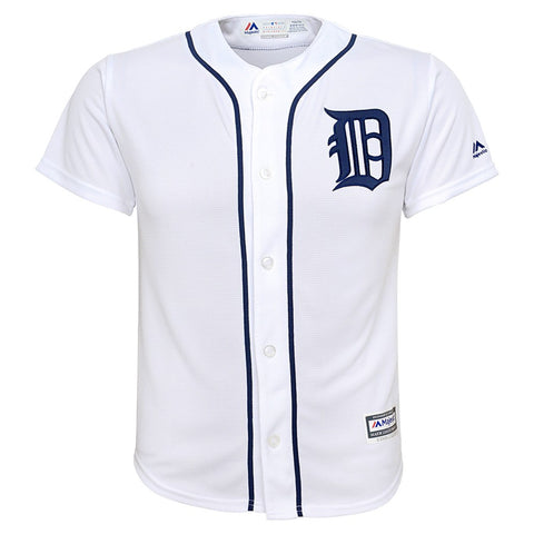 Justin Upton MLB Majestic Detroit Tigers Cool Base Home Jersey Youth (S-XL)