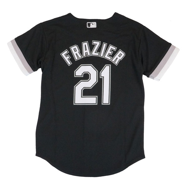 Todd Frazier 4 Chicago White Sox MLB  BlackAlternate Cool Base Jersey Youth