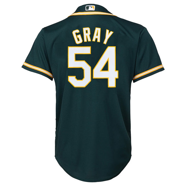 Sonny Gray MLB Majestic Oakland Athletics Alternate Cool Base Jersey Youth S-XL