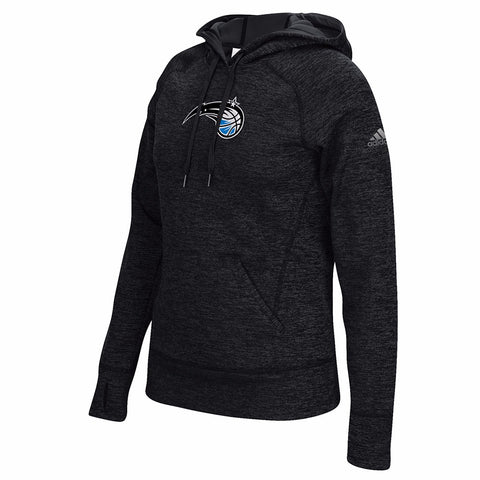 Orlando Magic NBA Women's Black Team Issued Climawarm Pullover Team Logo Hoodie
