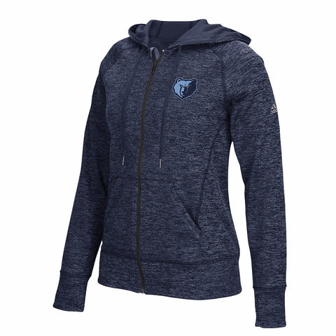 Memphis Grizzlies Adidas Full Zip Team Issue Climawarm Perf. Hoodie Women's