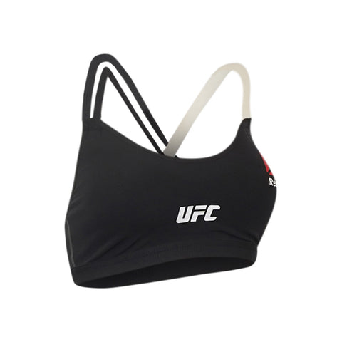 Reebok UFC Women's Black Speedwick Performance Fight Bra 2 AH4857