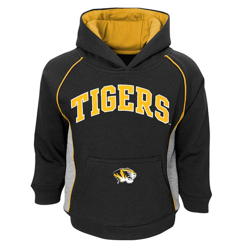 "Missouri Tigers NCAA ""Lil Fan"" Team Color Pullover Hoodie & Pants Set Toddler"