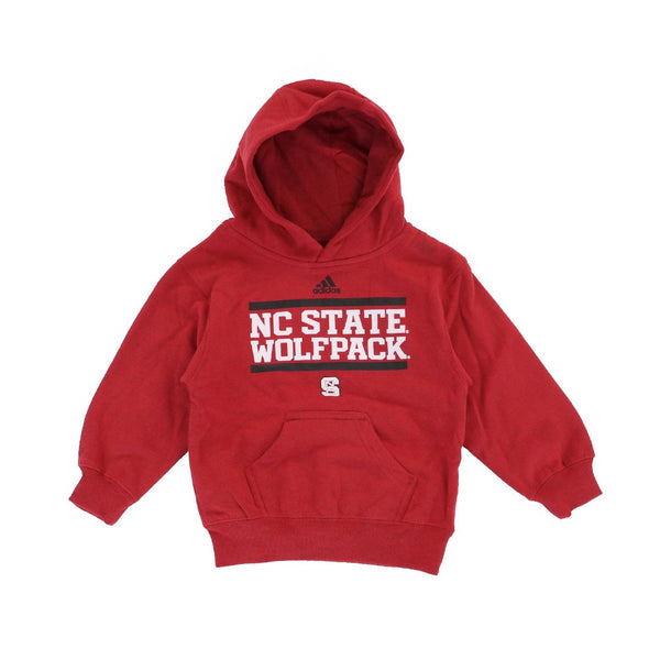 "NC State Wolfpack Adidas ""Playmaker"" Team Logo Pullover Hoodie Toddler (2T-4T)"