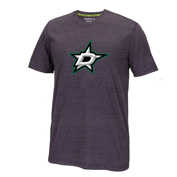 Dallas Stars Reebok TNT Center Ice Team Logo Speedwick Performance Men's T-Shirt