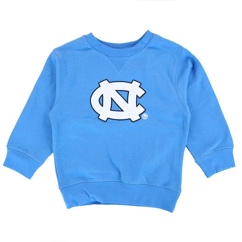 North Carolina UNC Tar Heels Logo Blue Crewneck Sweatshirt Infant (12-24 Months)