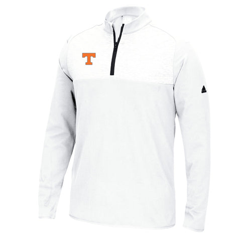 Tennessee Volunteers NCAA Adidas Men's Adi Golf White Fashion Pullover Jacket