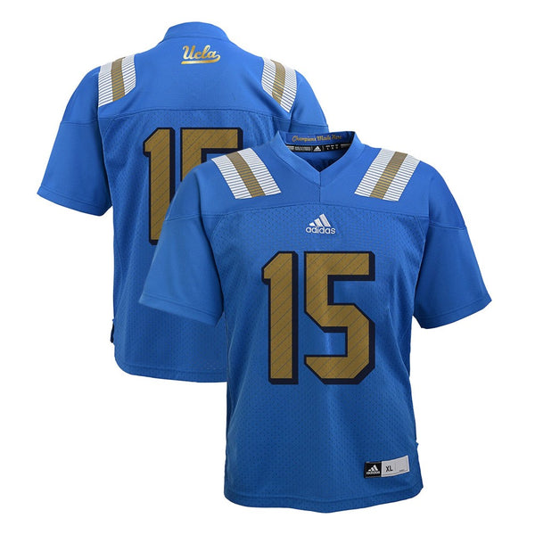 UCLA Bruins Adidas NCAA Boys #15 Home Blue Football Jersey